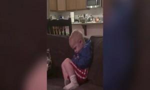 This boy is SO Sleepy!