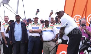 Ramaphosa tees off at golf challenge ahead of South African general election