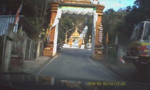 Truck Brakes Fail Climbing Steep Hill