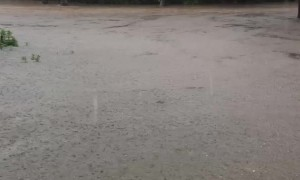 Flood Turns Roads into Rivers