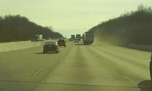 Tesla Model 3 Autopilot Avoids Accident