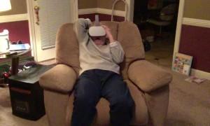 Virtual Reality Too Real for Mom