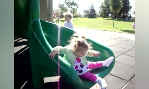 Whoops! Falling off Slides