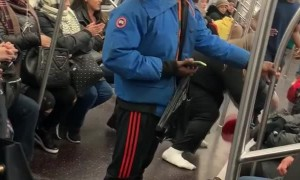 Dance Off in the Train