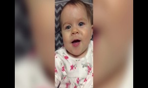 Super Cute Baby in Slow Motion is Amazing