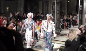 Award-winning British-Nigerian designer Tolu Coker parades collection at LFW