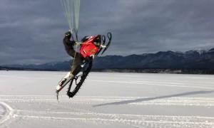 Anti Gravity Snowmobile