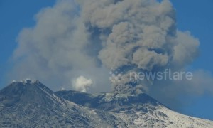 Italy's Mount Etna eruption forces partial closure of Catania airport