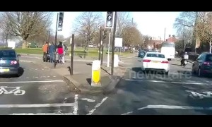 Shocking hit and run caught on camera in Bristol