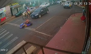 Getaway Go-Kart Pursued By Police