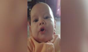 Baby Makes Adorable Faces