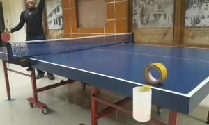 Ping Pong Trick Shot