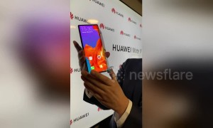 Huawei reveals foldable 5G smartphone at Mobile World Congress 2019