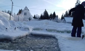 Winter Swim training in Russia