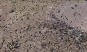 300 Ft BASE Jump into Cactus Patch