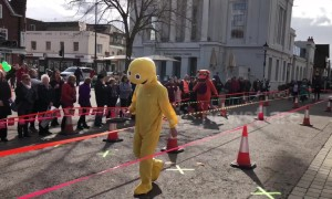 UK city celebrates Shrove Tuesday with annual pancake race