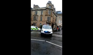Emergency services arrive at the University of Glasgow due to 'ongoing incident'