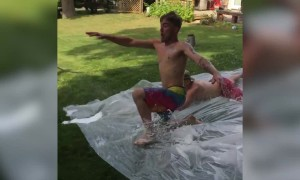 Crazy Slip and Slide Fails