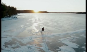 Flash Frozen Lake Skating