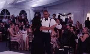 Wedding Guests Lose It Over Mother, Son Dance