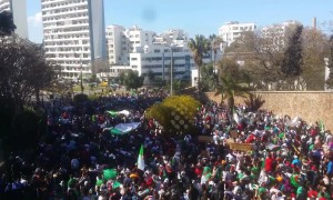 Huge protests in Algeria against President Bouteflika