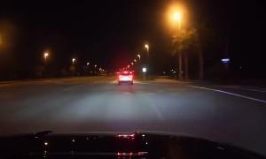 Woman flees police for cheeseburger