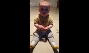 Baby has hilarious reaction to tasting lime for the first time