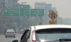 Shocking levels of air pollution as northern Thailand is ranked world's worst for fourth straight day