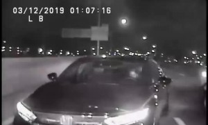Drunk and on the phone: Wrong way driver safely stopped by officers