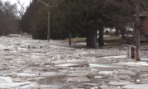 No traffic jams: ICE jams arrive on Canadian roads after spring flooding