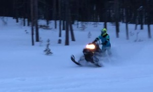 Wheelies in Winter