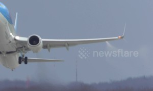 Passenger plane has to dump fuel during take-off from German airport