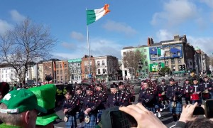 The Emerald Isle! Dublin celebrates St. Patrick's Day with its parade