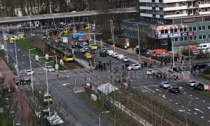 Emergency services on scene after 'gunman opens fire on tram' in Netherlands