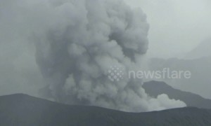 Indonesia's Mount Bromo erupts, spewing huge plume of ash