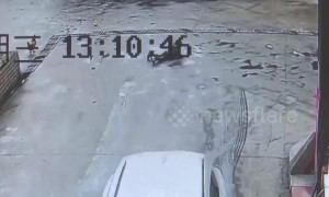 Toddler miraculously survives being dragged under SUV with only minor injuries