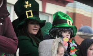 Even Storm Hannah couldn't stop the Birmingham St Patrick's Parade