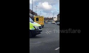 Croydon man in stand-off with police officers