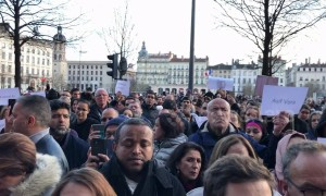 Lyon pays tribute to the victims of the Christchurch shootings
