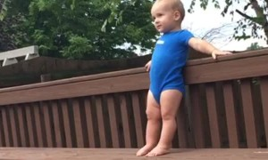 Boy Gets Bonked By a Ball