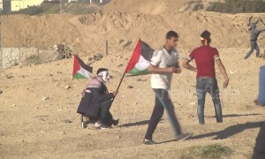 At least 16 injured in Gaza clashes with Israeli military