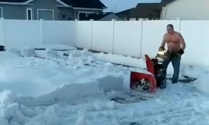 Minot Man Can't Wait for Spring