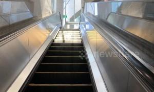 Stairway to heaven? Trick of light creates 'slinky' style illusion on Toronto escalator