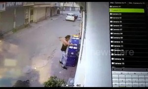 Got milk? Thieves do drive-by robbery of milk cart in India