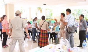 Voters head to the polls in Thailand