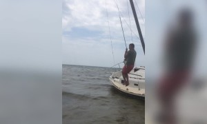 Rope Swing Goes Wrong