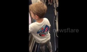 'I am a lucky mother!' Boy, 3, introduces himself to passengers on Southwest flight