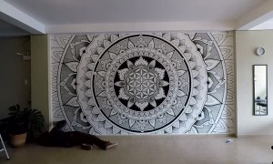 Mesmerizing Mandala Creation Time-Lapse
