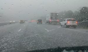 Bad Hail Pelts Brevard County Cars