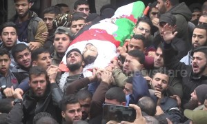 Huge crowds in Gaza for funeral of teenager shot by Israeli forces